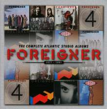 Foreigner: The Complete Atlantic Studio Albums 1977 - 1991, 7 CDs