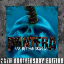 Pantera: Far Beyond Driven (20th Anniversary Edition), 2 CDs