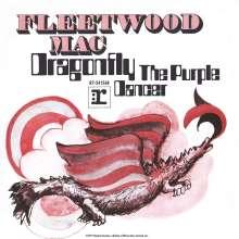 "Fleetwood Mac: Dragon Fly B/W The Purple Dancer (Limited-Edition) (Blue Vinyl), Single 7"""