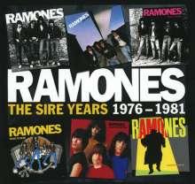 Ramones: The Sire Years 1976-1981, 6 CDs