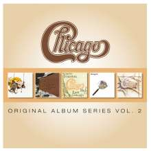 Chicago: Original Album Series Vol.2, 5 CDs
