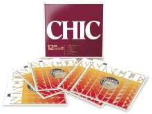 """Chic: The 12"""" Singles Collection, 5 Single 12""""s"""
