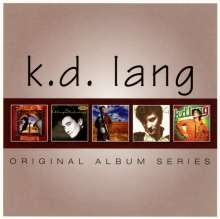 k. d. lang: Original Album Series, 5 CDs
