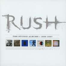 Rush: The Studio Albums 1989 - 2007, 7 CDs