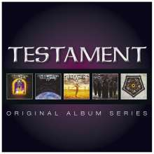 Testament (Metal): Original Album Series, 5 CDs