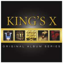 King's X: Original Album Series, 5 CDs