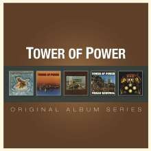 Tower Of Power: Original Album Series, 5 CDs