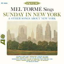 Mel Tormé (1925-1999): Sunday In New York & Other Songs About New York, CD