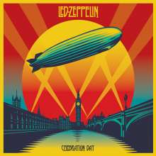 Led Zeppelin: Celebration Day: Live 2007 (Deluxe-Edition) (Digipack CD-Size), 4 CDs