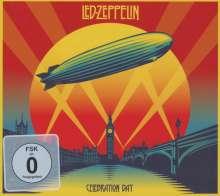 Led Zeppelin: Celebration Day: Live 2007 (Standard-Edition) (Digipack CD-Size), 2 CDs und 1 Blu-ray Disc