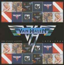 Van Halen: The Studio Albums 1978 - 1984, 6 CDs