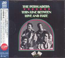 Persuaders: Thin Line Between Love And Hate, CD