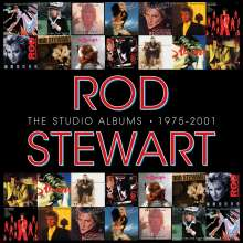 Rod Stewart: The Studio Albums 1975 - 2001 (Limited Edition Boxset), 14 CDs