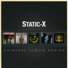 Static-X: Original Album Series, 5 CDs