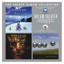 Dream Theater: The Triple Album Collection, 3 CDs