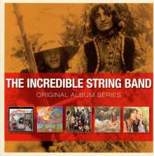 The Incredible String Band: Original Album Series, 5 CDs