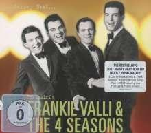 Frankie Valli: Jersey Beat: The Music Of Frankie Valli & The Four Seasons (3CD + DVD), 3 CDs und 1 DVD