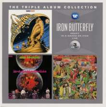 Iron Butterfly: The Triple Album Collection, 3 CDs