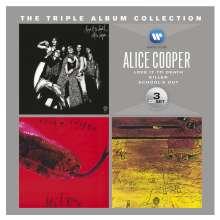 Alice Cooper: The Triple Album Collection, 3 CDs