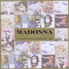 Madonna: The Complete Studio Albums (1983-2008) (Limited Edition), 11 CDs
