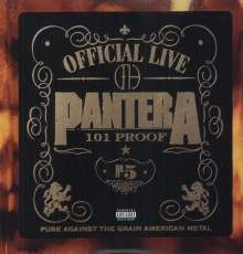 Pantera: Official Live - 101 Proof (180g), 2 LPs