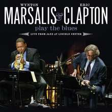 Eric Clapton & Wynton Marsalis: Play The Blues: Live From Jazz At Lincoln Center, N.Y., CD