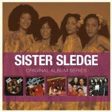 Sister Sledge: Original Album Series, 5 CDs