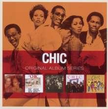 Chic: Original Album Series, 5 CDs