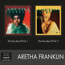 Aretha Franklin: The Very Best Of Vol. 1 / The Very Best Of Vol. 2, 2 CDs