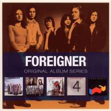 Foreigner: Original Album Series, 5 CDs