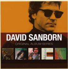 David Sanborn (geb. 1945): Original Album Series, 5 CDs