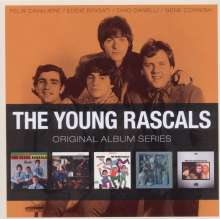 The Rascals (The Young Rascals): Original Album Series, 5 CDs