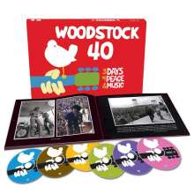 Woodstock: 40th Anniversary (Boxset), 6 CDs