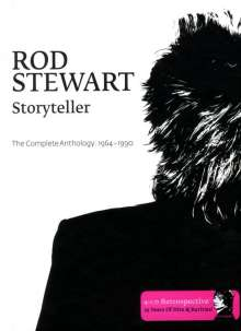 Rod Stewart: Storyteller - The Complete Anthology 1964-1990, 4 CDs