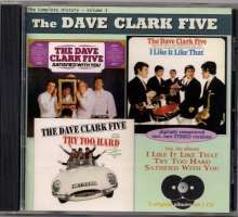Dave Clark (geb. 1942): I Like It Like That / Try Too Hard / Satisfied With You, CD