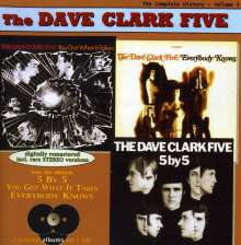 Dave Clark (geb. 1942): Vol. 4-5x5/Got What/Knows, CD