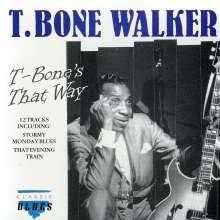 T-Bone Walker: T-Bone's That Way, CD