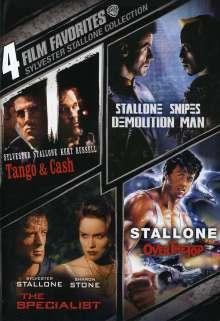 Sylvester Stallone: 4 Film Favorites, DVD
