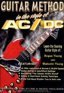 Guitar Method - In the Style of AC/DC, DVD