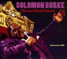 Solomon Burke: Last Great Concert, 2 CDs
