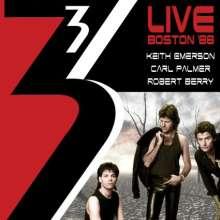 3 (Keith Emerson, Carl Palmer & Robert Berry): Live In Boston 1988, 2 CDs