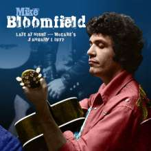 Mike Bloomfield: Late At Night: McBabes January 1,1977, CD