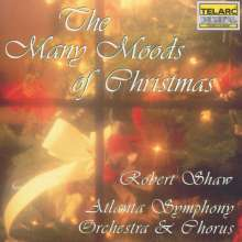 Robert Shaw: Many Moods Of Christmas, CD