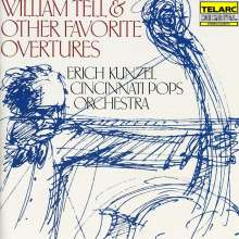 Erich Kunzel - William Tell & Other Favorite Overtures, CD