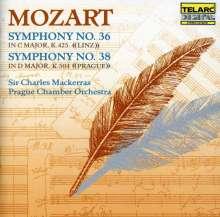 Wolfgang Amadeus Mozart (1756-1791): Symphonien Nr.36 & 38, CD