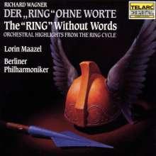 """Richard Wagner (1813-1883): Orchesterstücke """"Der Ring ohne Worte"""", CD"""