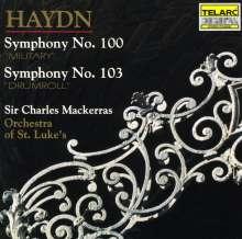 Joseph Haydn (1732-1809): Symphonien Nr.100 & 103, CD