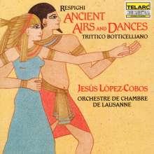Ottorino Respighi (1879-1936): Antiche Danze ed Arie per Liuto, CD