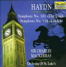 Joseph Haydn (1732-1809): Symphonien Nr.101 & 104, CD