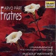 Arvo Pärt (geb. 1935): Fratres (in 7 Versionen), CD